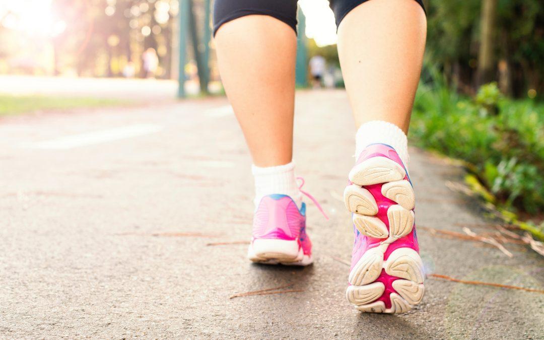 Carmel Fitzpatrick completed a 10k fun run