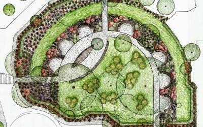 2017 Garden news – Initial concept plan