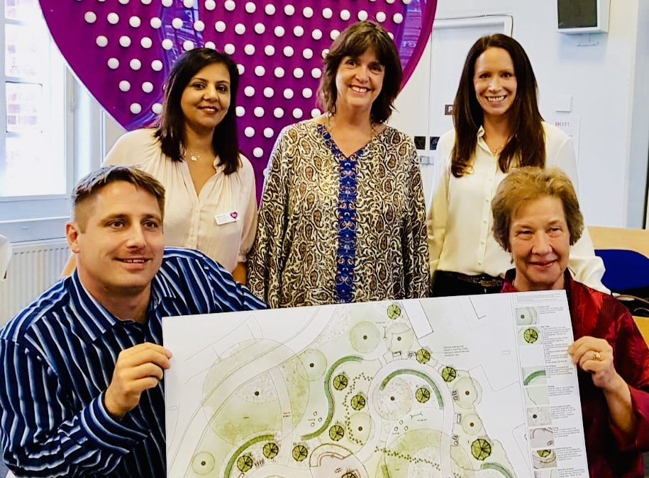 The Harefield Healing Garden appeal has officially Launched!