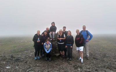 Ingleborough climb raised £406.50 in memory of Jessica Cook