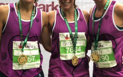 Team of three take on the Royal Parks Half Marathon in aid of The Healing Garden