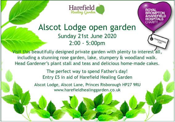 Alscot Lodge open garden 2020