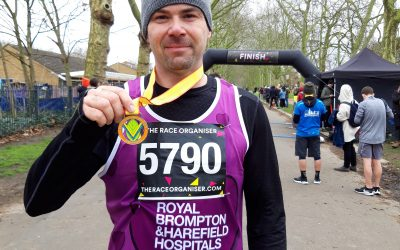 Please support this super fundraiser, racing to raise money for the Harefield Healing Garden!