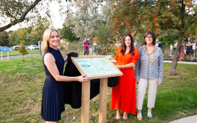 A celebration of the official opening of the Harefield Healing Garden